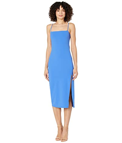 Susana Monaco String Slit Midi Dress Women
