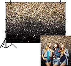 Allenjoy 7x5ft Gold Glitter Paint Backdrop for Photography Astract Golden Bokeh Spot Starry Sky Wedding Adult Baby Children Family New Year Party Decor Portrait Shooting Photo Studio Booth