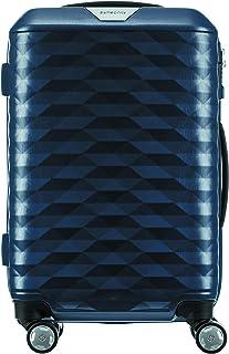 Samsonite 111636 Polygon Hard Side Spinner Suitcase, Blue, 55 Centimeters