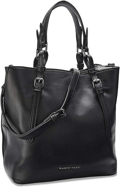 Marco Tozzi Damen Handtasche 2-2-61027-25, 2-61027-25-Bolso de Mano para Mujer, Talla única