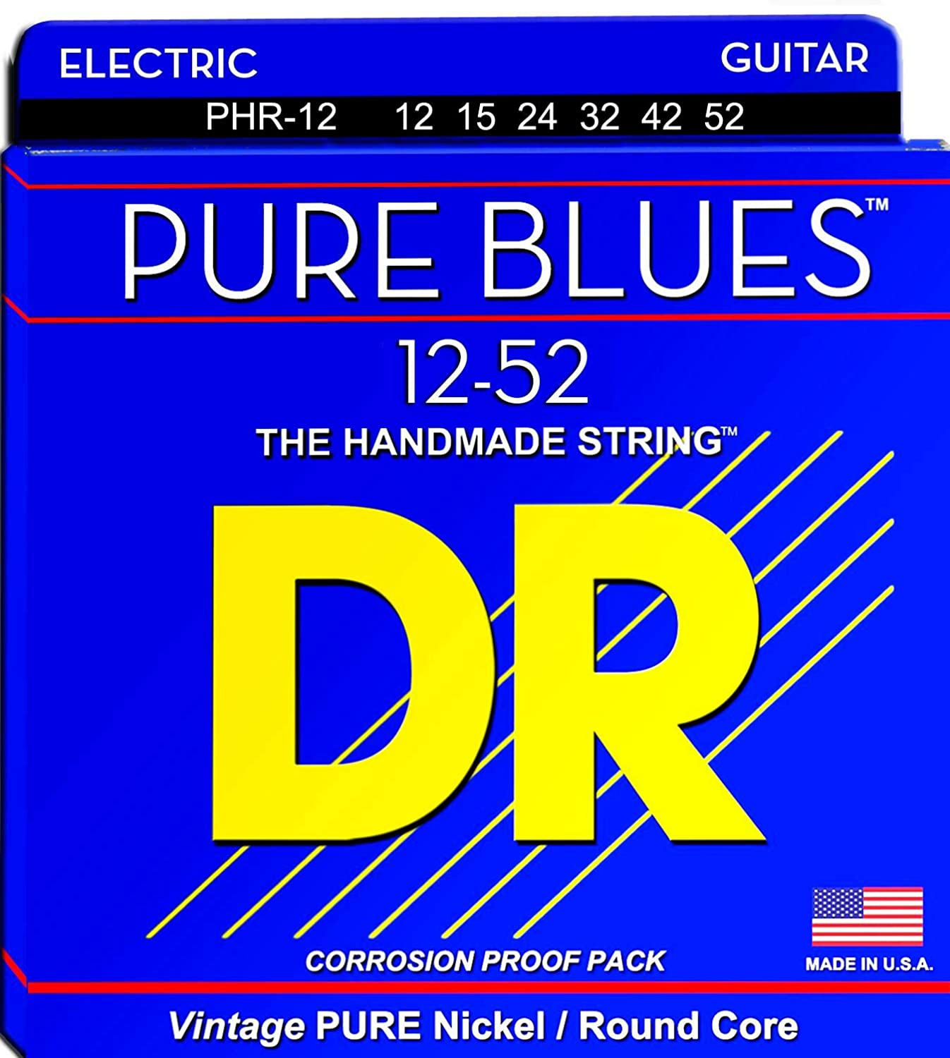 DR Special price Strings PHR12 Pure Blues Nickel Max 85% OFF Guitar S Extra Heavy Electric