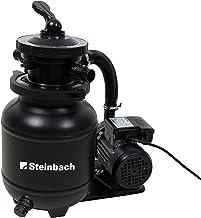 Steinbach Speed Clean Comfort Filtre à Sable Balles filtrantes incluses BIS 19.000 l Wasserinhalt Noir