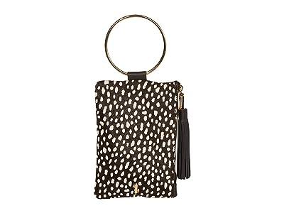 THACKER Nolita Clutch (Black/Spotted) Handbags