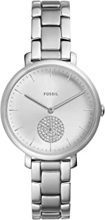 Fossil Jacqueline Women's Silver Dial Three-Hand Stainless Steel Watch - ES4437