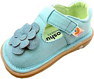 baby canvas t bar shoes