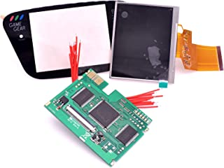 """Deal4GO LED Backlight LCD Screen Upgrade Mod Board Kit with 3.5"""" TFT LCD LQ035NC111 + Glass Screen Lens + Jumper Wires for..."""