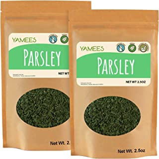 Sponsored Ad - Yamees Parsley - Dry Herbs - Bulk Spices - 2 Pack of 2.5 Ounce Each