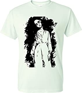 Haunting The Bent Neck Lady Unisex T-Shirt - White New