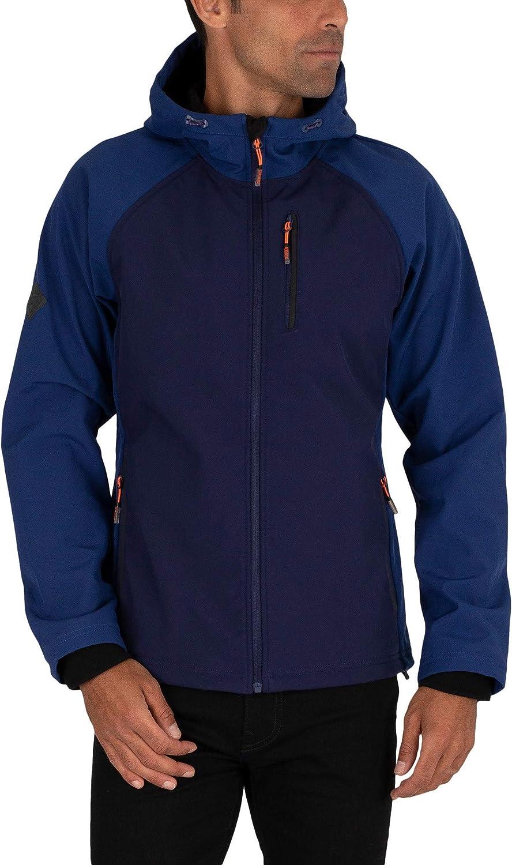 Manufacturer OFFicial shop Superdry Men's Hooded Sale SALE% OFF Blue Softshell Jacket