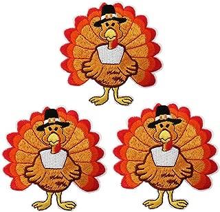thanksgiving turkey applique