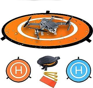 OLOEY Portable Foldable Waterproof Double Sided Drones Landing Pad for Mavic Pro Air/Mavic2/ Spark/Phantom 3/4 (55cm /21.6...