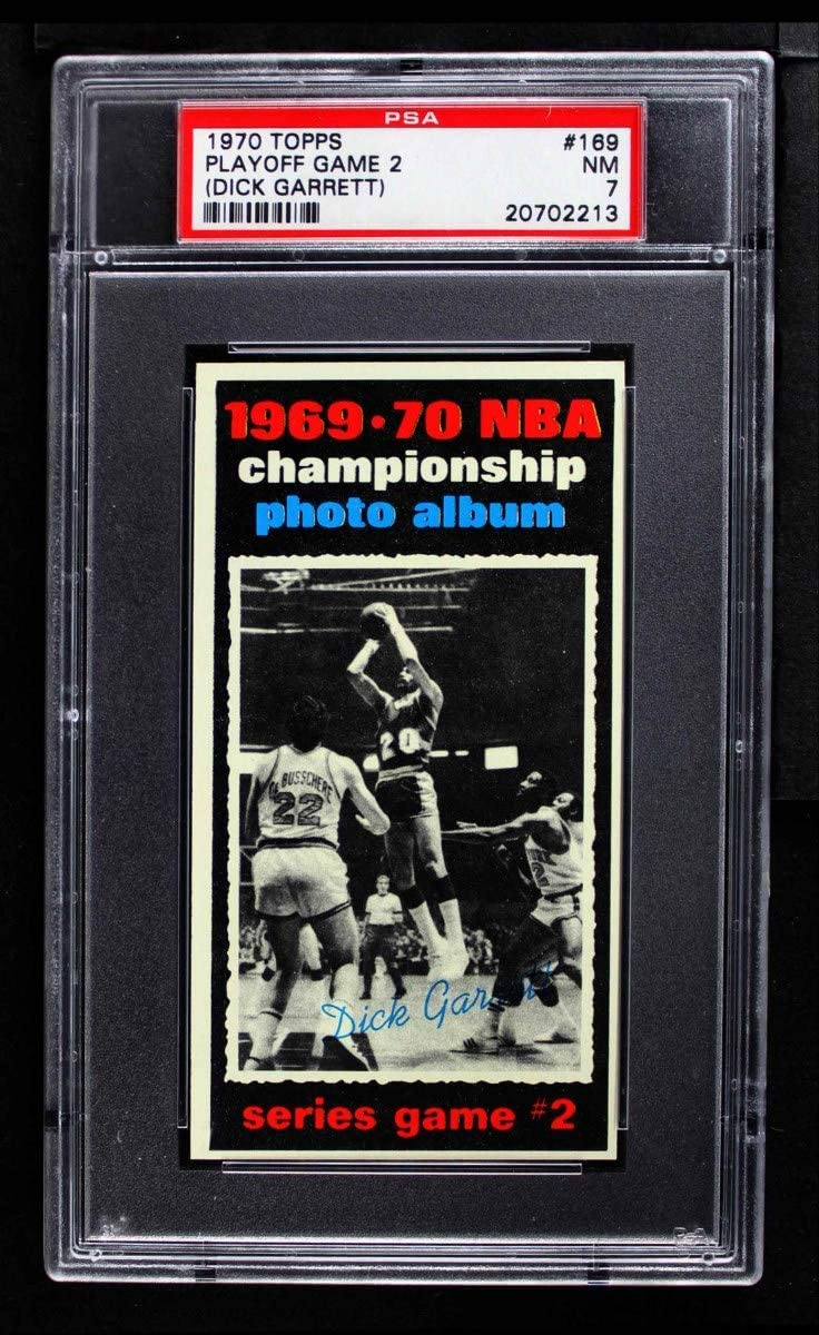 1970 Topps # 169 Max 83% OFF 1969-70 NBA Dick Championship Game - 2 At the price of surprise Garrett