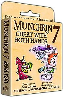 Steve Jackson Games 1468SJG Munchkin 7 Cheats Both Hands Card Game