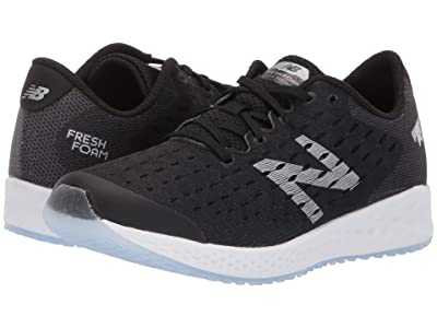 New Balance Kids Fresh Foam Zante Pursuit (Big Kid) (Black/Silver) Boys Shoes