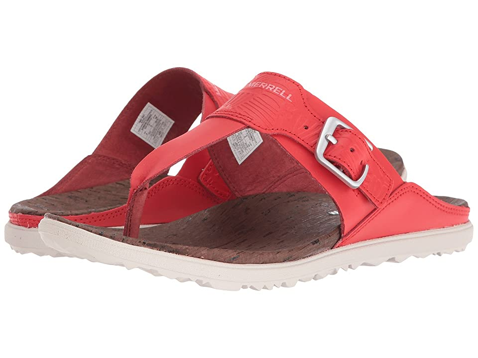 Merrell Around Town Post Print (Fiery Red) Women