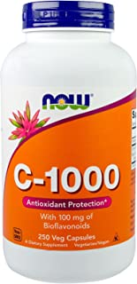 NOW Foods - C-1000 250 caps (Pack of 2)