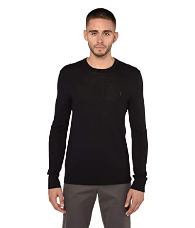 AllSaints Mode Merino Crew Sweater (Ink Navy) Men