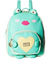 Luv Betsey Frogie PVC Kitch Mid Size Backpack