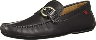 Men's Leather Made in Brazil Buckle Driver Loafer
