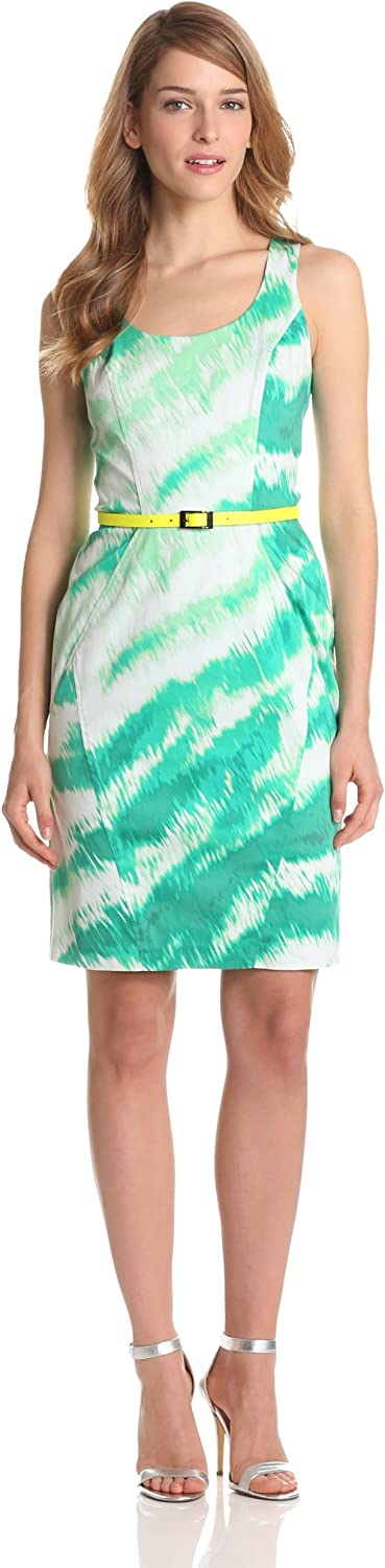 Vince Camuto Women's Structured Dress with Racerback