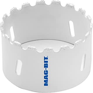 MAGBIT 625.6616 MAG625 4-1/8-Inch Carbide Grit Hole Saw with 1-9/16-Inch Depth