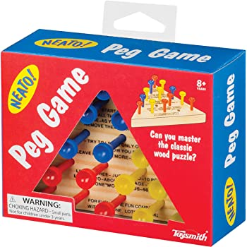 Wooden Triangle Game 62956 Rhode Island Novelty Board /& Travel Games