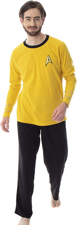 Star Trek Original Series Men's Costume Pajama Soldering Uniform Max 73% OFF Sleepwear