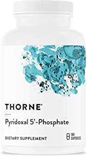 Thorne Research - Pyridoxal 5'-Phosphate - Bioactive Vitamin B6 (Pyridoxine) Supplement for Energy Production and Neurotra...