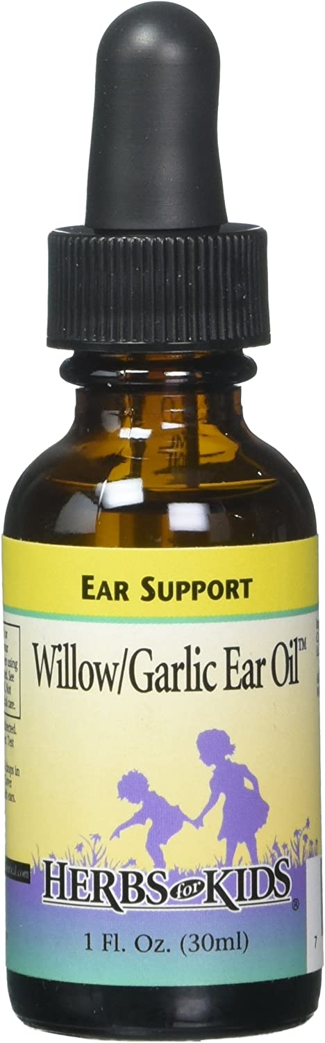 Free shipping / New Herbs Many popular brands for Kids Willow Garlic 1o Oil Ear Unscented Btl-Glass