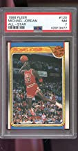 1988-89 Fleer #120 Michael Jordan All-Star AS NM PSA 7 Graded Basketball Card