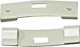 15 Pack VERTICAL BLIND Vane Saver ~ Ivory Curved Repair Clips ~ Fixes Broken Holes