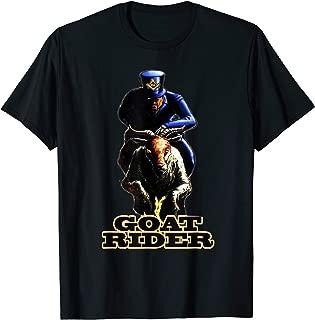 Mens Masonic Goat Rider T Shirt Mason