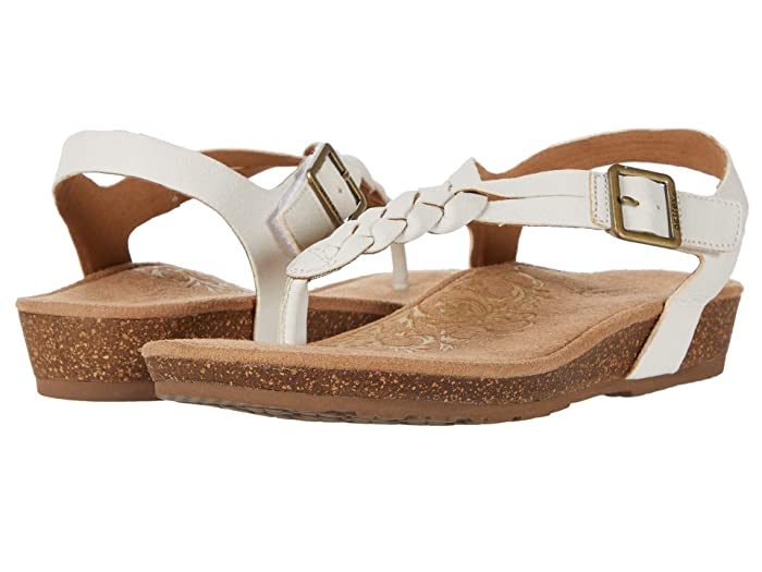 Aetrex  Harper (White) Womens Sandals
