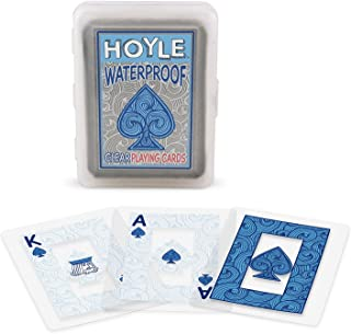 Hoyle Clear Plastic Playing Cards (2-Pack)