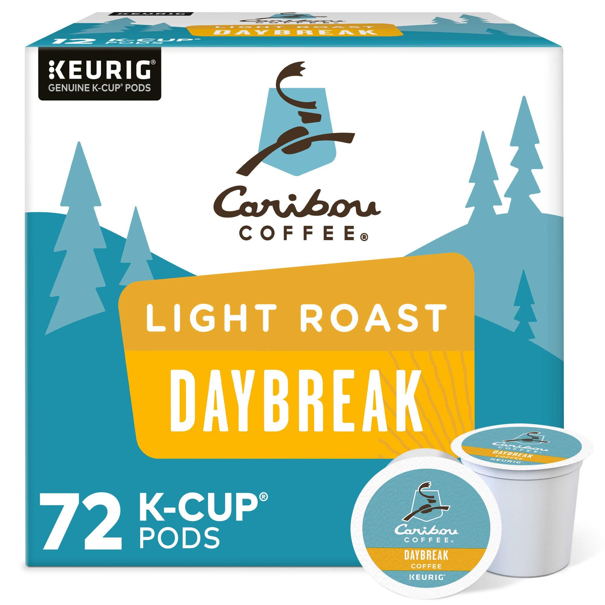 Caribou Light Roast K-cup Coffee