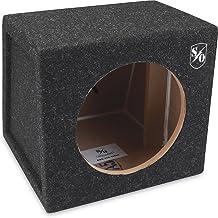 "Sound Ordnance BB8-35S Single 8"" Sealed Box 0.38 cu.ft."