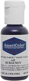 Americolor Soft Gel Paste .75 oz Burgundy Color
