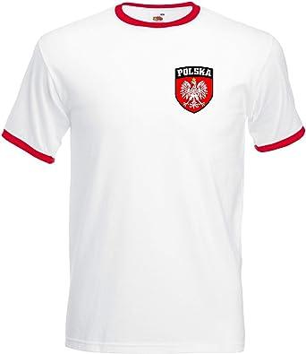 Polonia Polska poli blanco fútbol balón selección nacional ...