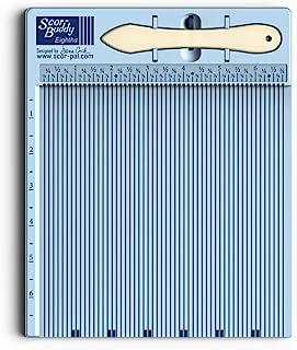 "Scor-Pal Scor-Buddy Eighths Mini Scoring Board 9""x7.5"" Imperial, Multi"