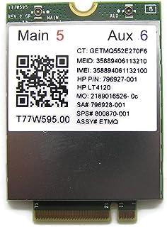 HP 純正EliteBook 1040 G3シリーズ WWAN T77W595 LTE M.2 GPSモバイルブロードバンド付き 800870-005 800870-001