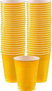 Best yellow plastic tableware Reviews