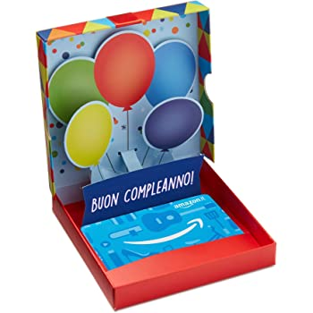 Buono Regalo Amazon.it - Cofanetto Compleanno Pop Up