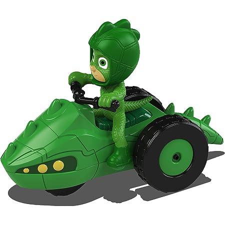 Dickie- PJ Mask Vehículo de juguete con personaje, Color ...