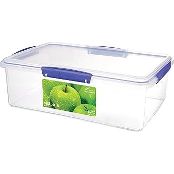 Sistema KLIP IT Rectangular Collection Food Storage Container,236 Oz