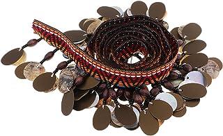 Hellery 10 Rollos Cuerda de Yute de Trenzas Hilo de Abalorios Cordones para Hacer Joyas Proyectos de Arte DIY