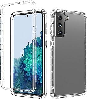 BAIYUNLONG Funda Protectora, para Samsung Galaxy S21 + 5G a Prueba de Golpes Alta Transparencia Cambio Gradual de Dos Colo...