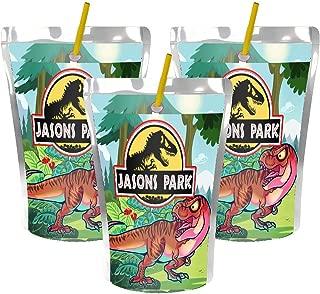 juice pouch label template