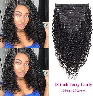 Best curly hair clip ins human hair Reviews