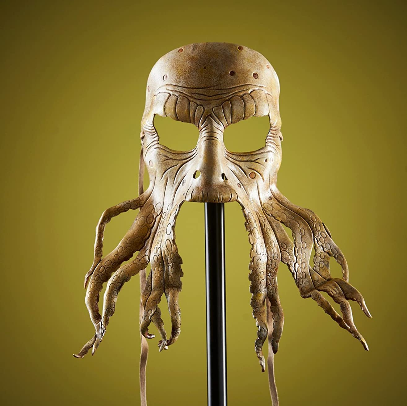 Pirate Octopus Handmade Genuine Leather Mask for Masquerades Halloween or Cosplay