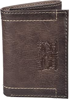Levis Mens Wallet, Card Case & Money Organizer, Brown, 14 31LV110028